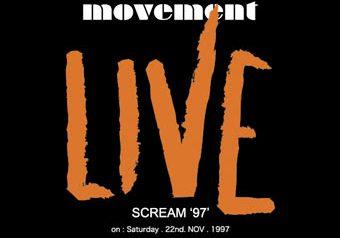 "LIVE ""scream97"""