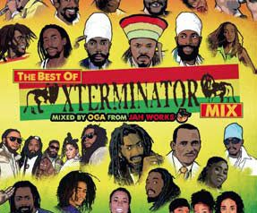 "Mixed by OGA ""THE BEST OF XTERMINATOR"" 7/2 発売"