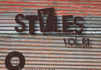 BRAIN BUSSの最新Mix『STYLES vol2』9/3発売