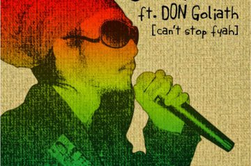 10/29 配信開始「Can't stop fayah feat. Don Goliath」JAH MELIK