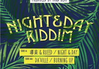 YARD BEAT 7inch『NIGHT&DAY RIDDIM』7inch 2タイトル