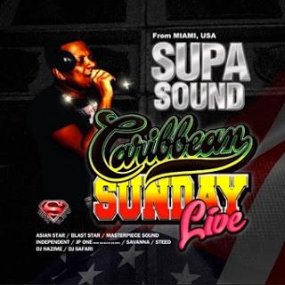 CARIBBEAN SUNDAY LIVE No.1