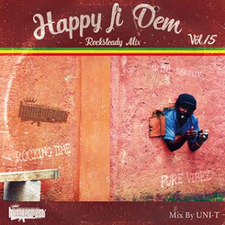 HAPPY FI DEM vol.15 -rock steady mix-