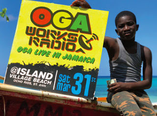 [CD]OGA WORKS RADIO MIX vol.8 -Oga Live in Jamaica
