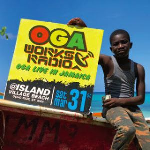 OGA WORKS RADIO MIX VOL.8 -OGA LIVE IN JAMAICA-