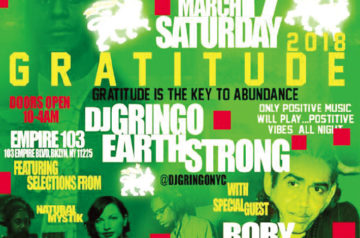 [ライブCD] RORY STONE LOVE / GRATITUDE 2018 DJ GRINGO BIRTHDAY BASH