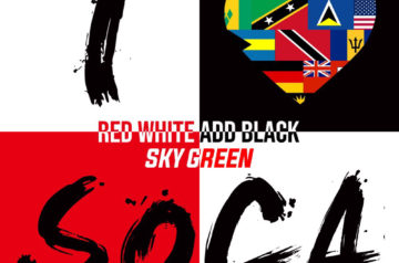 [CD] SKY GREEN RED WHITE ADD BLACK