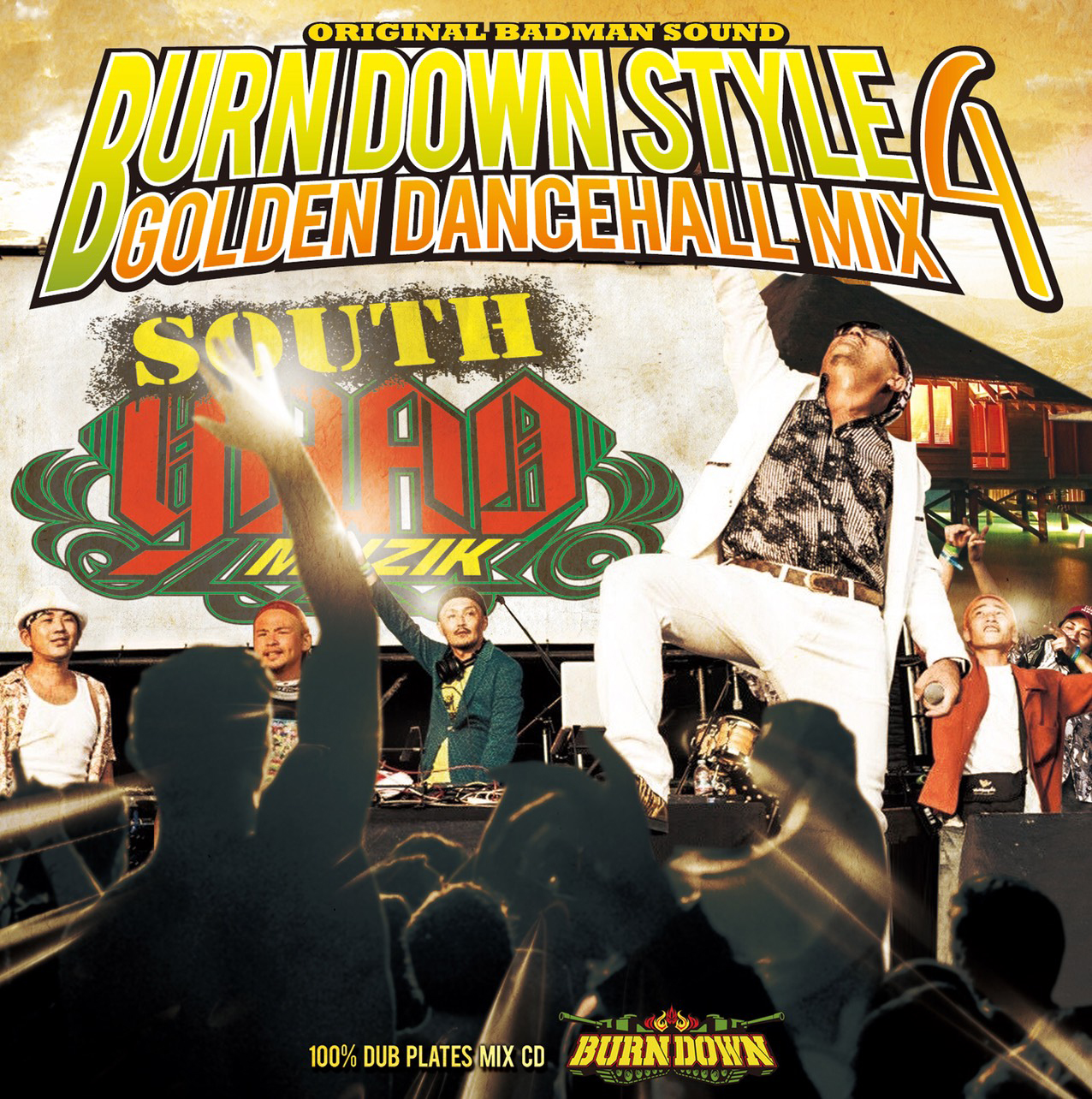 BURN DOWN STYLE -GOLDEN DANCEHALL MIX 4-