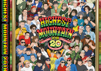 [DVD]HIGHEST MOUNTAIN 2018 -20周年 11/21 発売