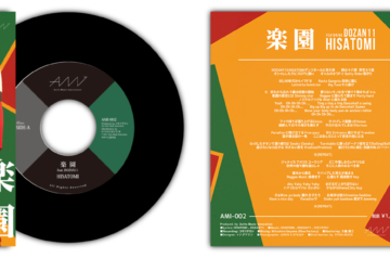 Azito Music Innovation 7inch×3・4/29発売